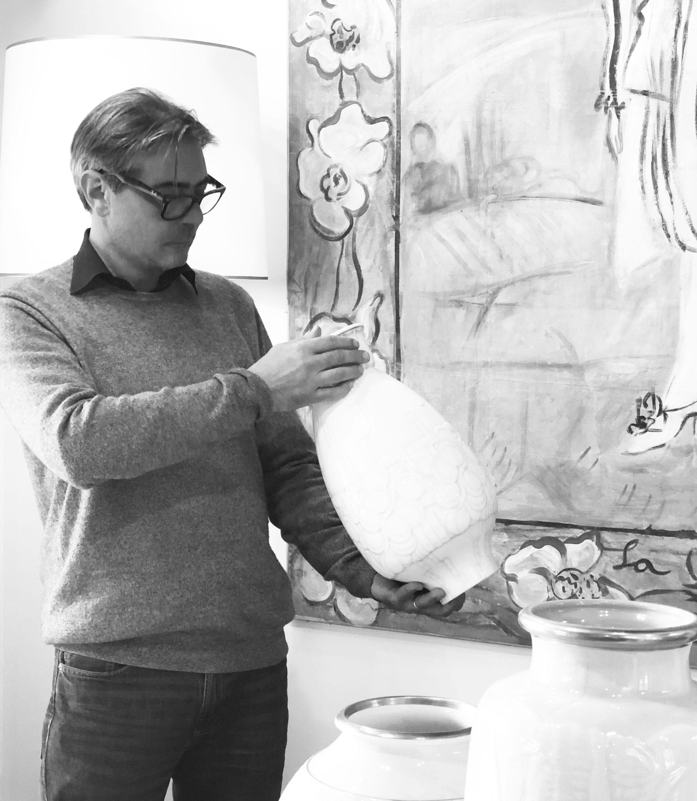 Arnaud Plaisance, en action © archives de l'expert
