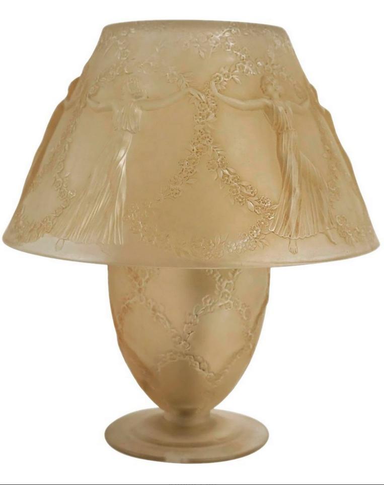 René Lalique - Lampe