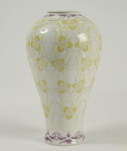 Vase Sèvres signé et daté 1908