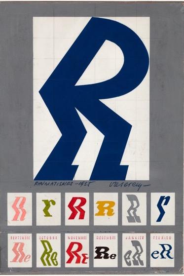 Victor Vasarely 1935 Rhumatisme