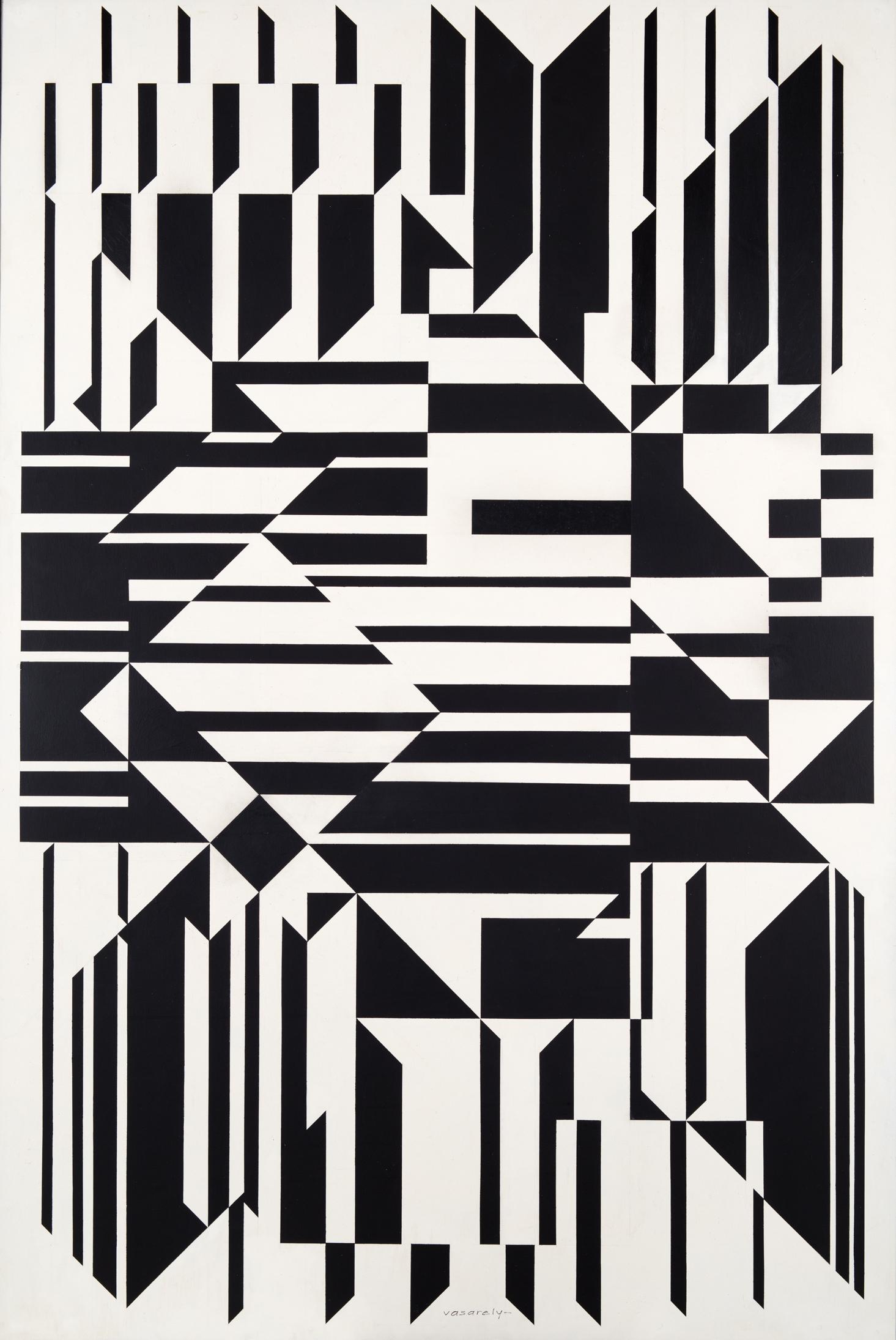 Victor Vasarely Tilla 1958