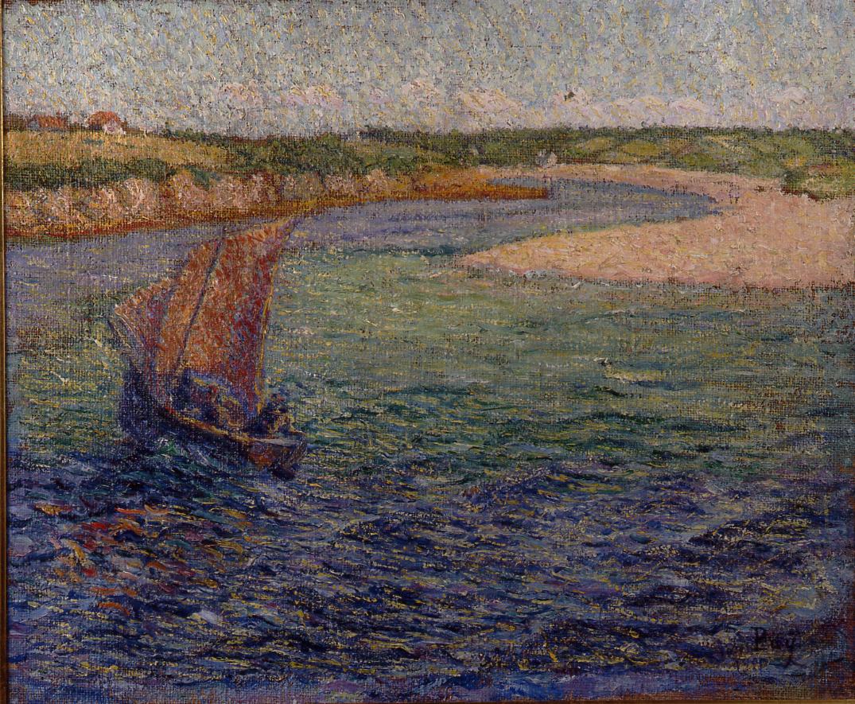 La Barre du Pouldu, 1900, collection particulière. Huile sur toile, 46 x 55 cm, collection Michel Puy