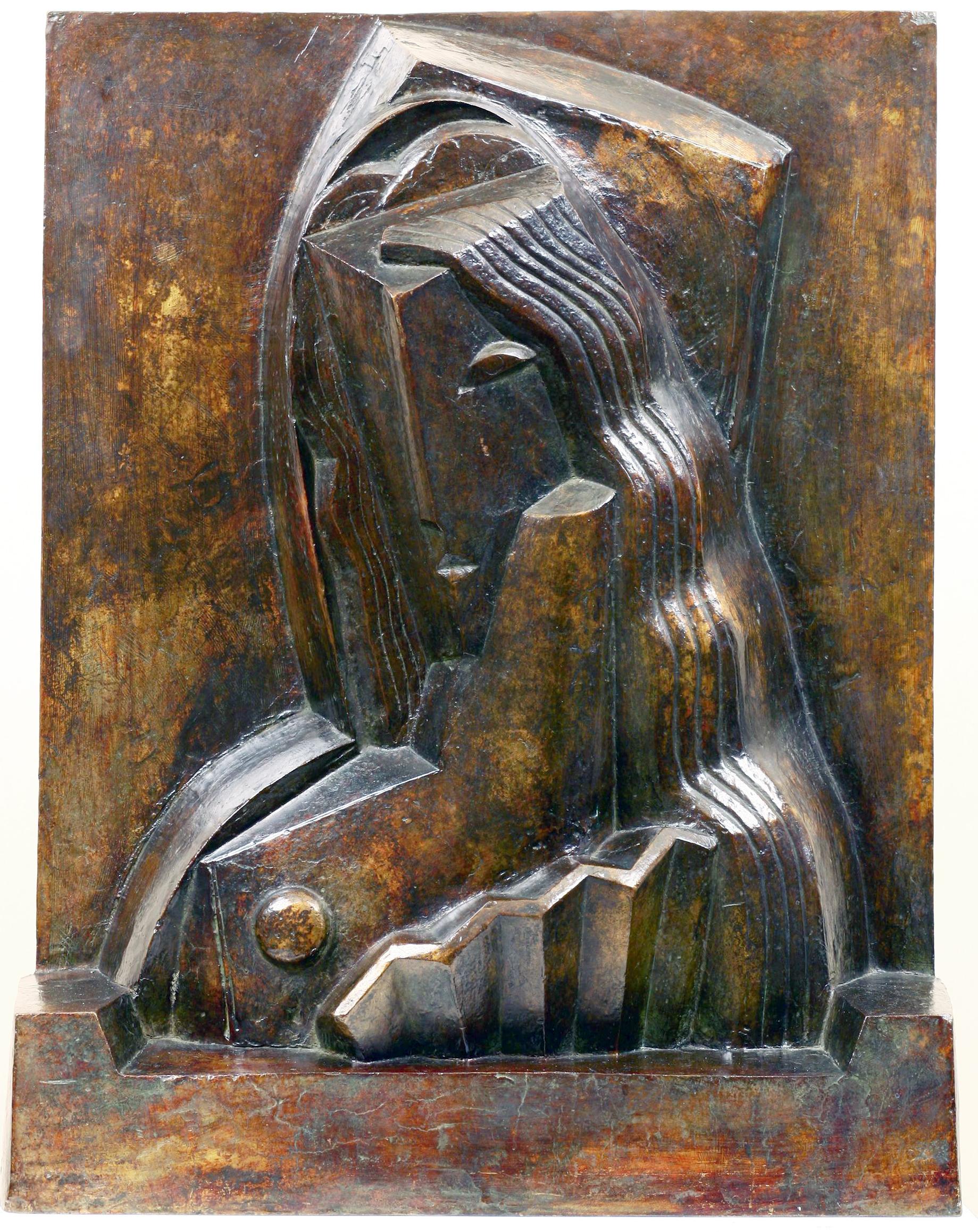 Henri Laurens - Femme à l'éventail (1921) © archives de l'expert