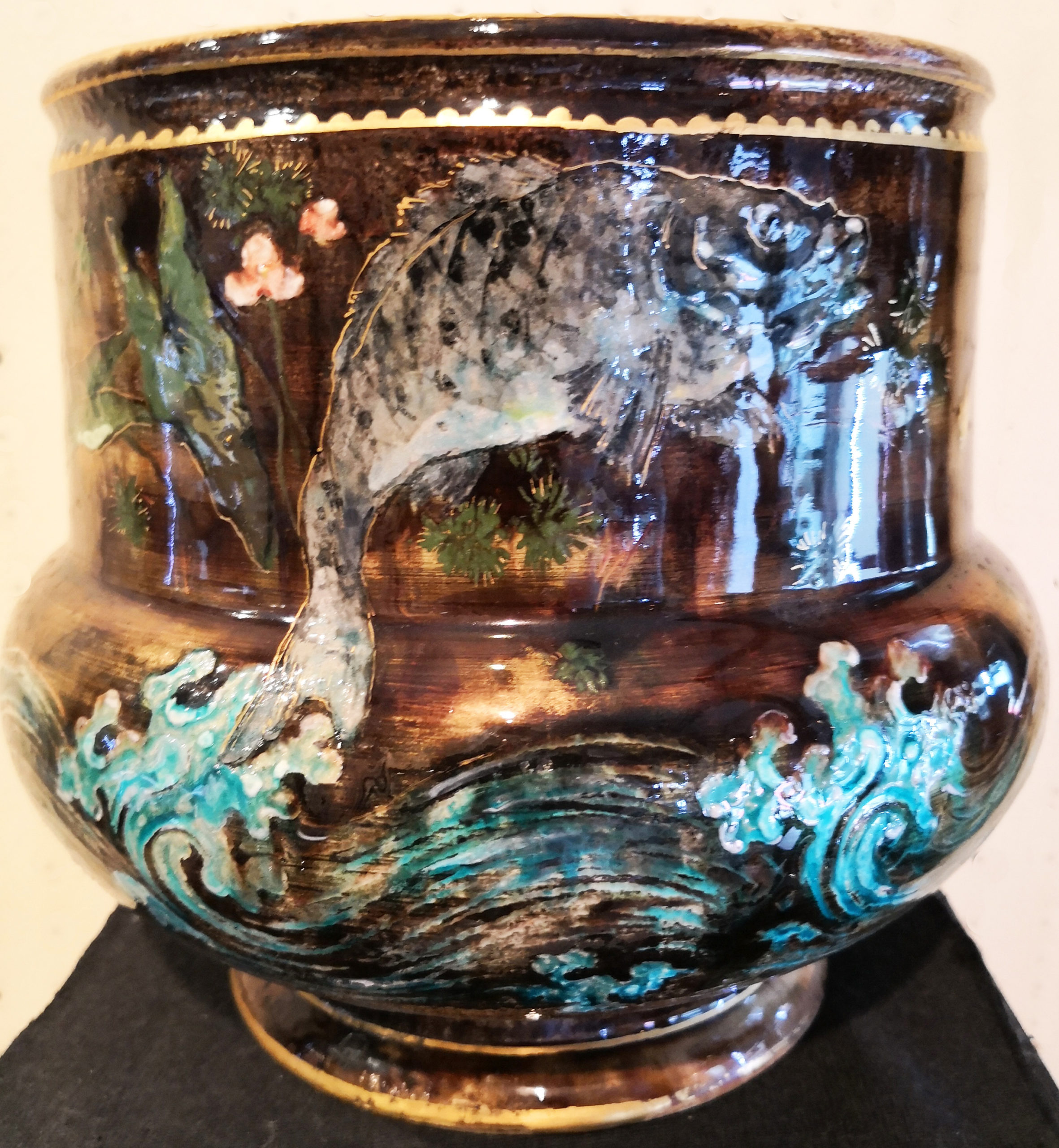 Vase de Albert Dammouse © photo de l'expert