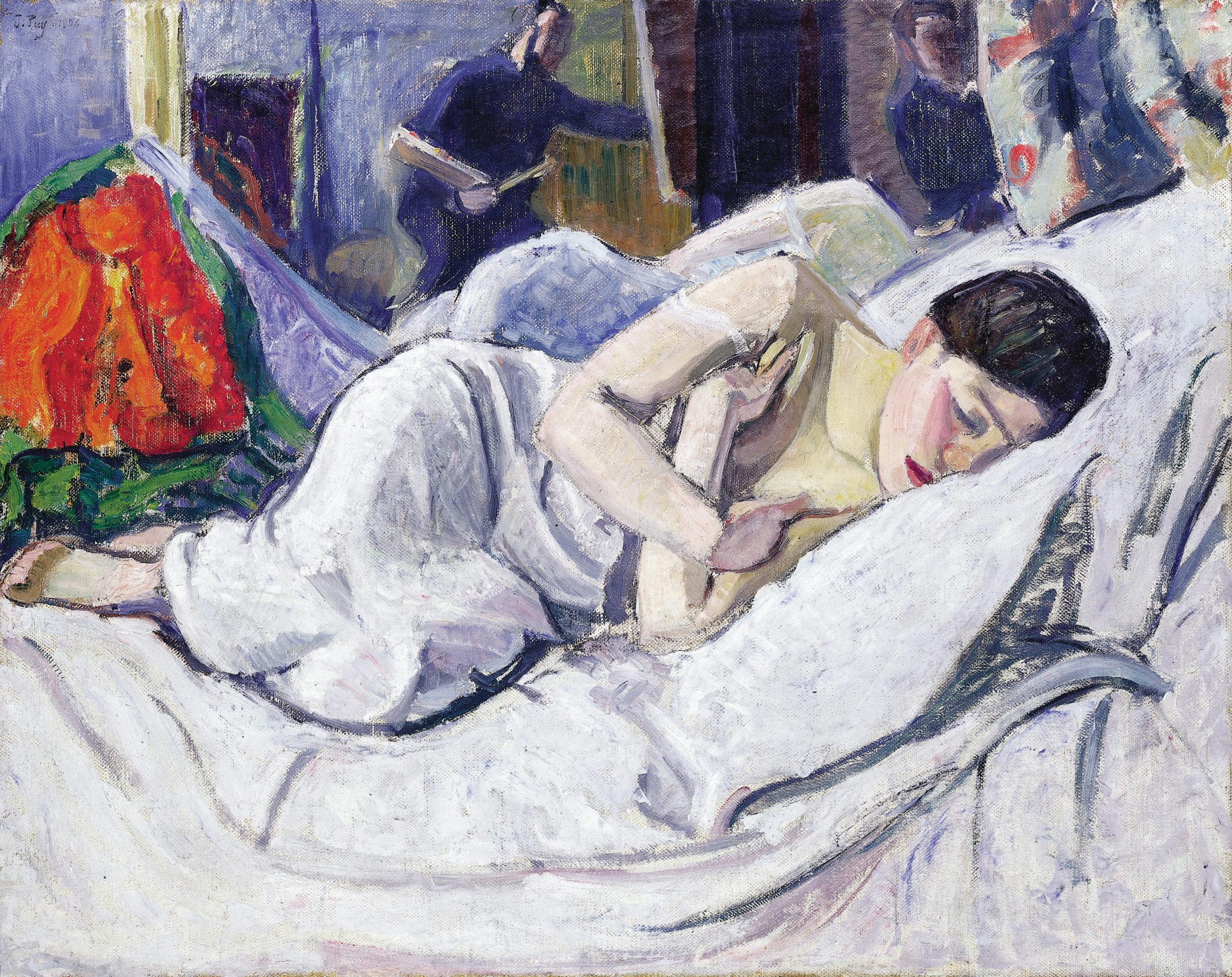 Petite Faunesse dormant, 1906, Huile sur toile, 74,5 x 94,5 cm, collection Paul Dini