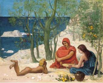 Le Rocher blanc, c.1869