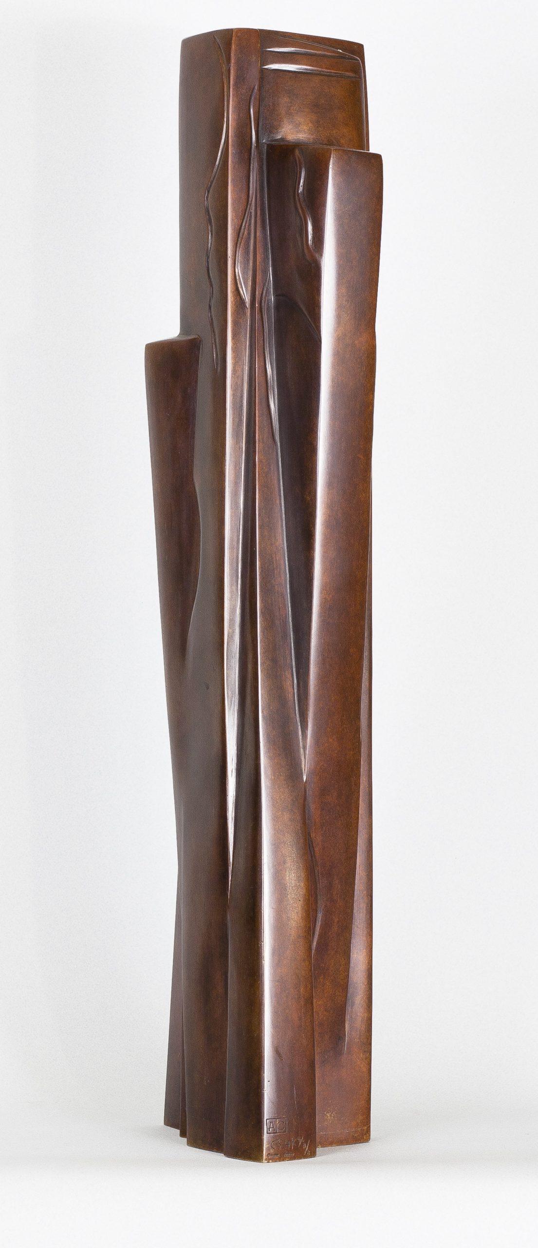 Ossip Zadkine - Figure abstraite debout 1920 © archives de l'expert