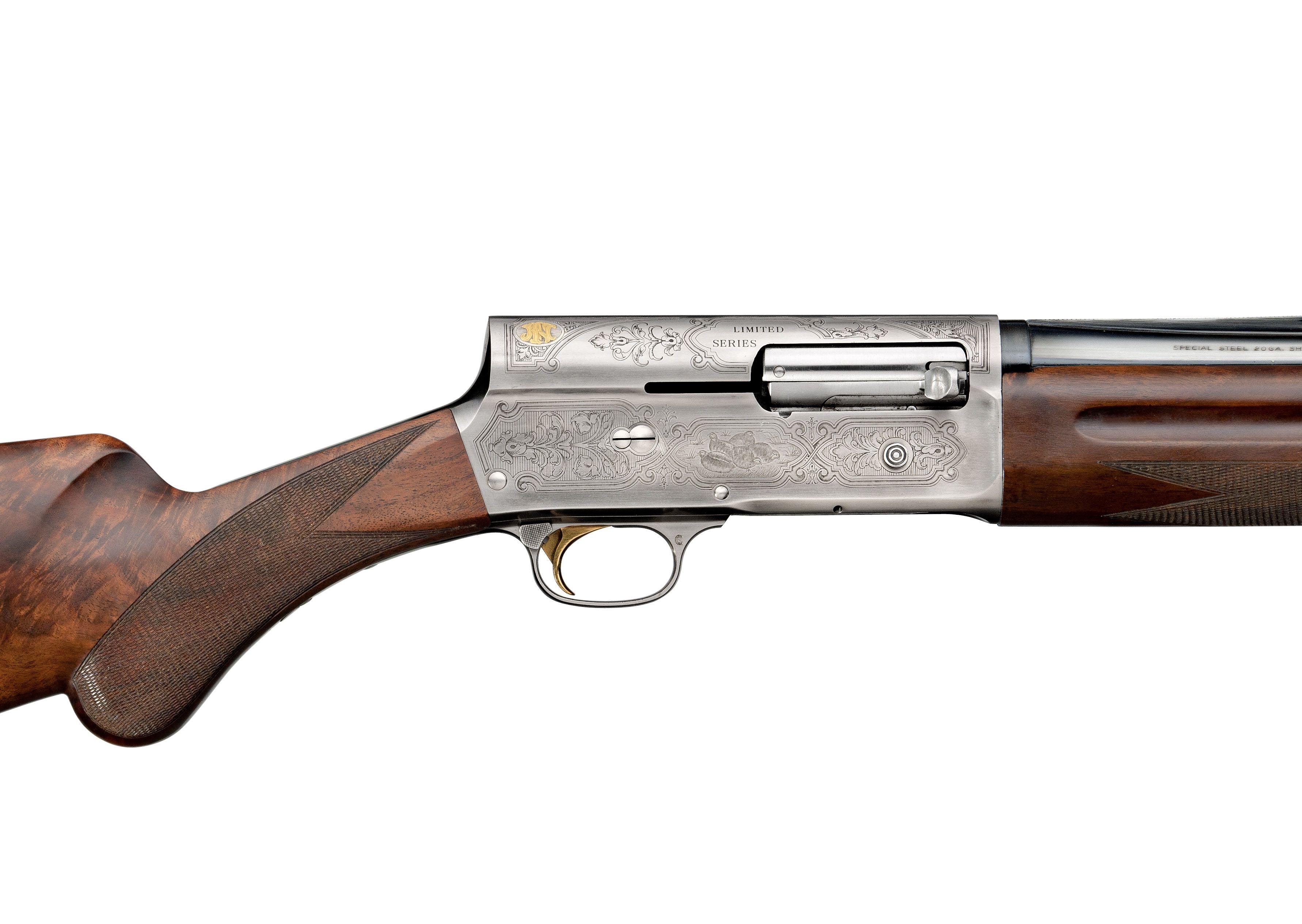 Browning, le fusil semi-automatique Auto 5
