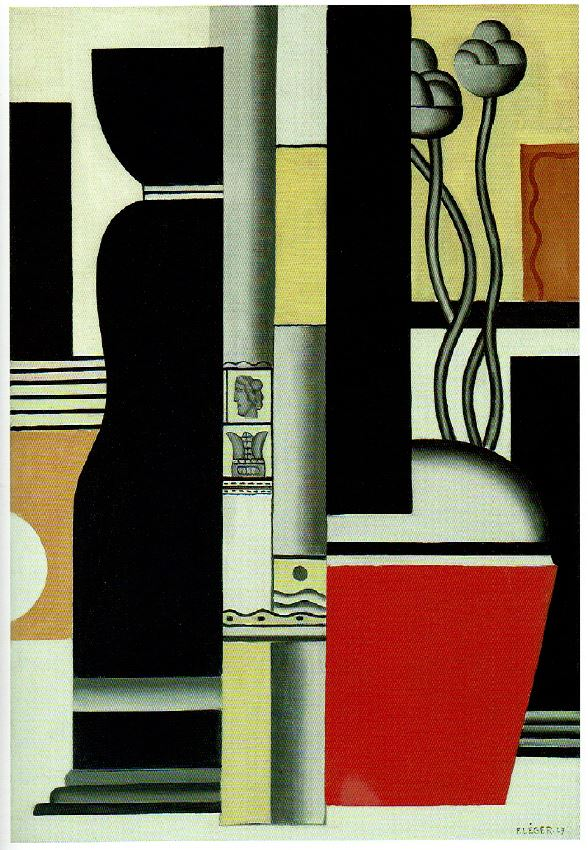 Fernand Léger - Nature morte 1927 Huile sur toile 130,2 x 88,9cm Coll. part.