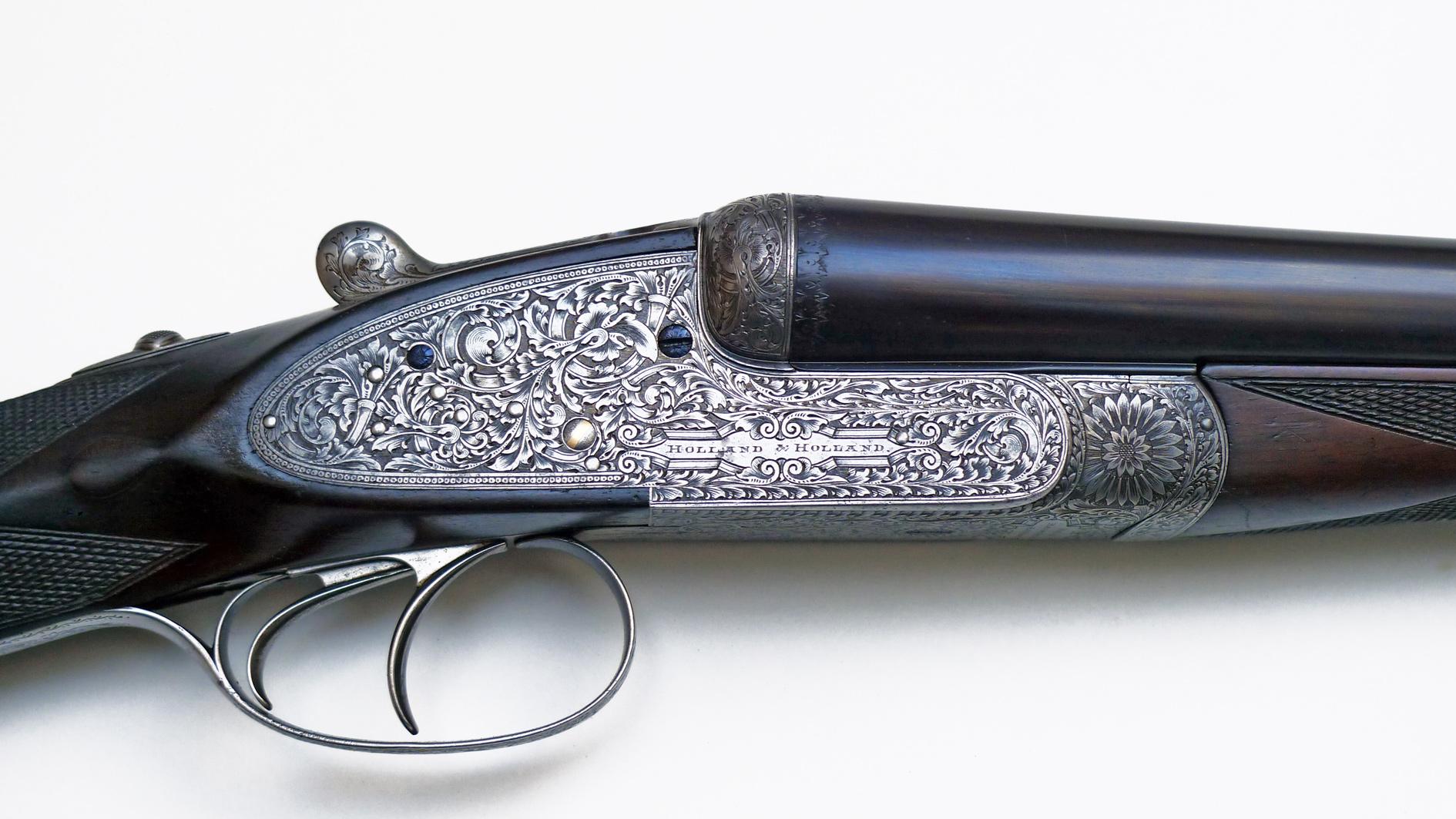 Holland-Holland, le fusil juxtaposé à platines