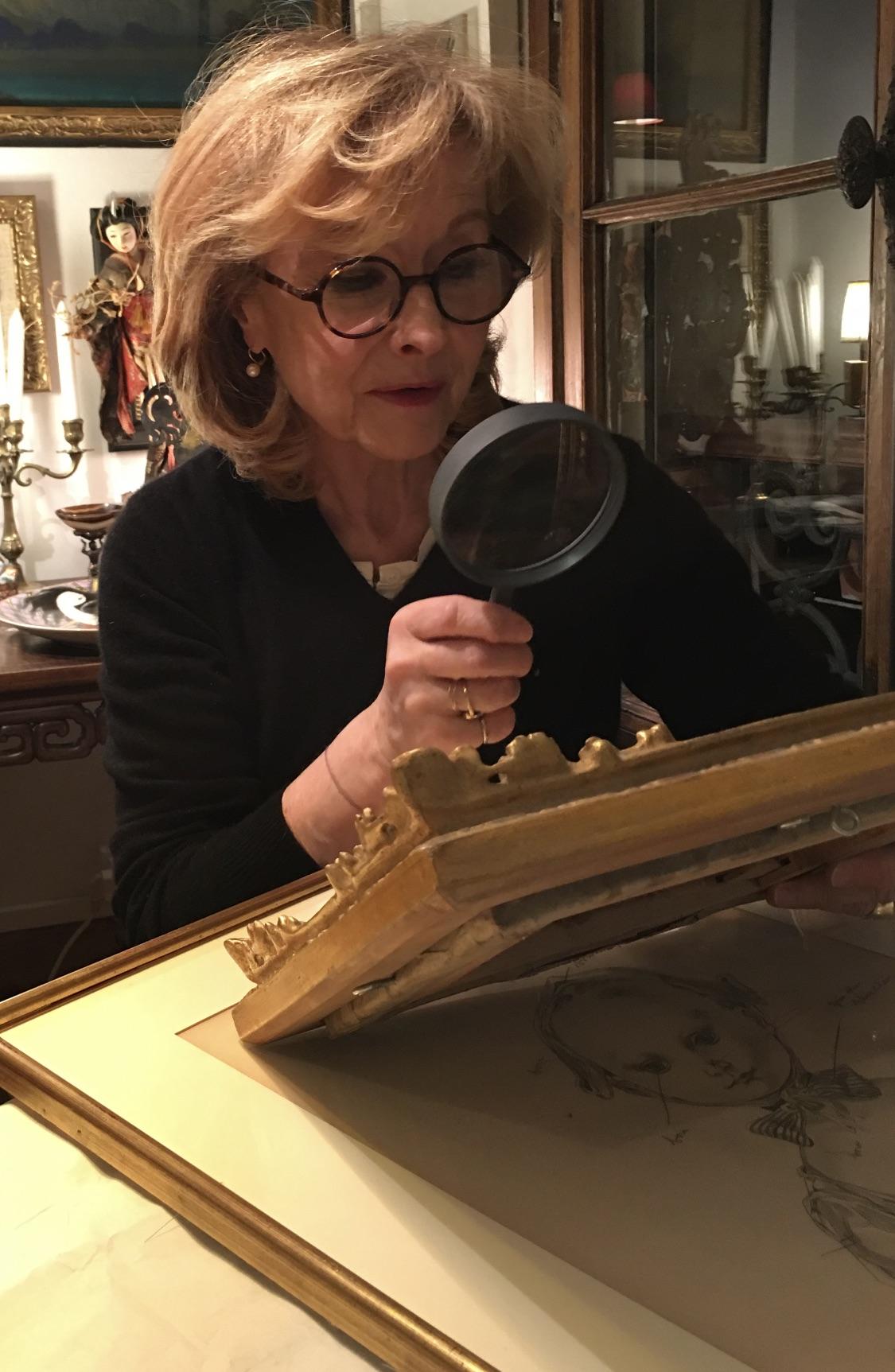 Sylvie Buisson © archives de l'expert