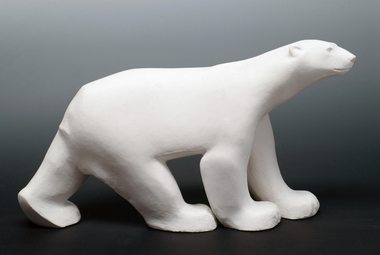 François Pompon - Ours blanc, Pierre, 1927 © ill. Liliane Colas, Paris