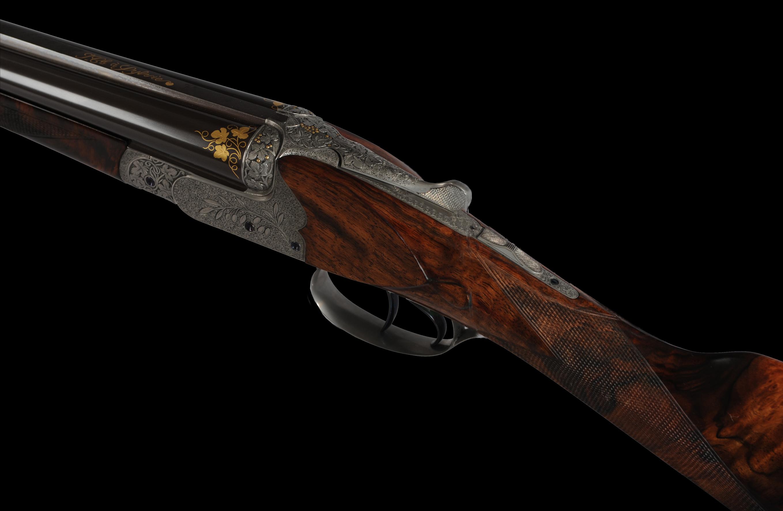 Savin, le fusil juxtaposé Anson