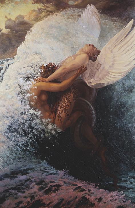 Spleen et Idéal, 1907huile sur toile, 146 x 97 cm, Région Bruxelles-Capitale, en dépôt aux Musées royaux des Beaux-Arts de Bruxelles.