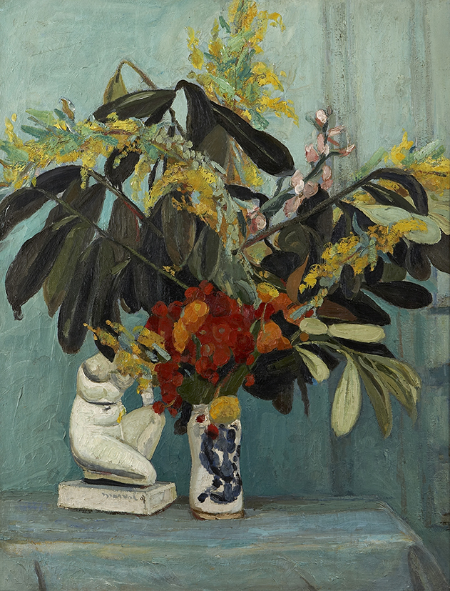 Bouquet Sombre, 1907. 116 x 89 cm. Collection Raphaël Roux dit Buisson, Paris.