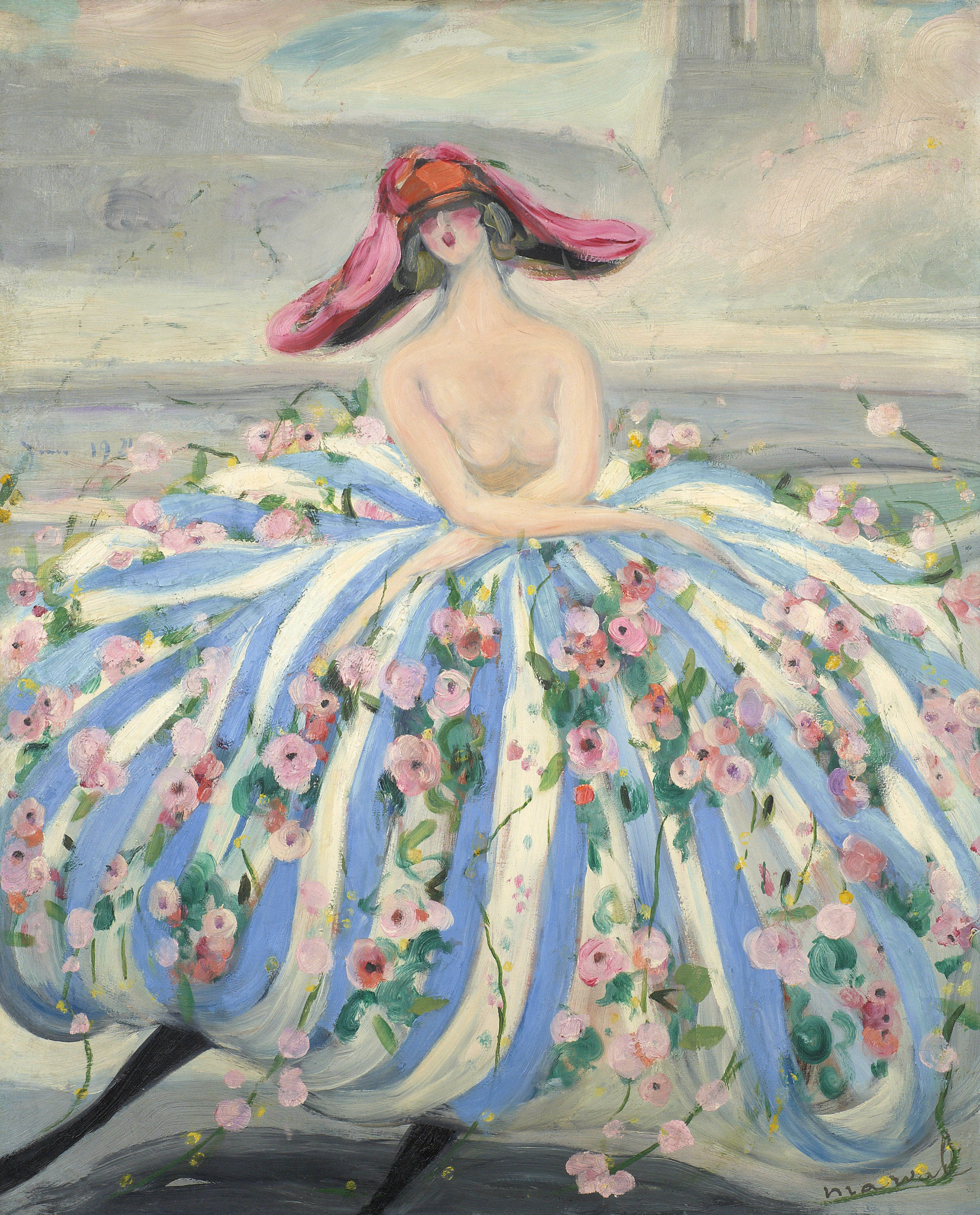 La Danseuse de Notre-Dame, circa 1921. 100 x 81 cm. Collection Raphaël Roux dit Buisson, Paris.