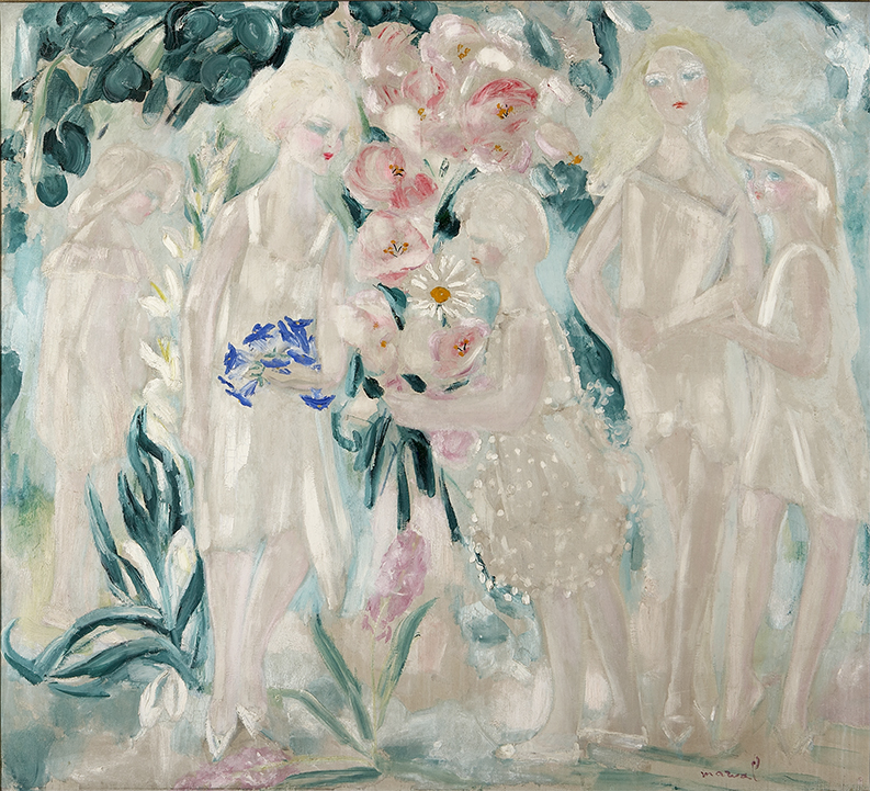 Jardin de ma Voisine, circa 1923. 135 x 150 cm. Collection Raphaël Roux dit Buisson, Paris.