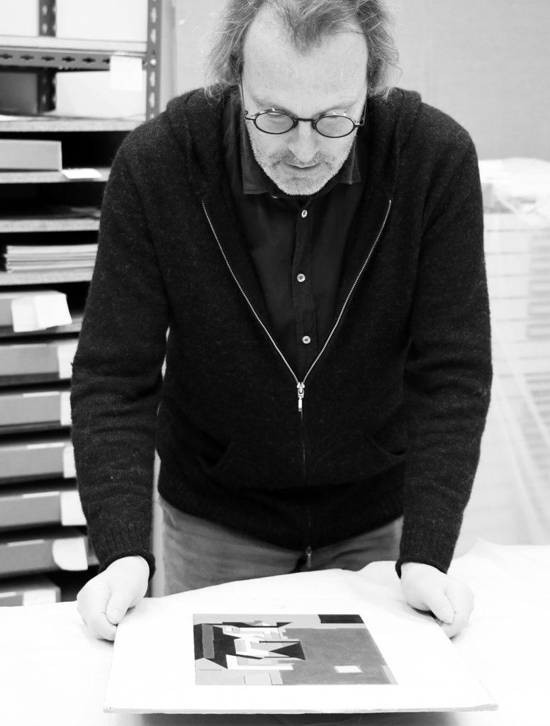 rre Vasarely, expert de Victor Vasarely, Fondation Vasarely, Aix-en-Provence © photo de l'expert