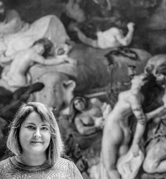 Paris, Musée du Louvre - Virginie Cauchi, Paris 2021 © photo MademoiselleKriss, Paris 2021..