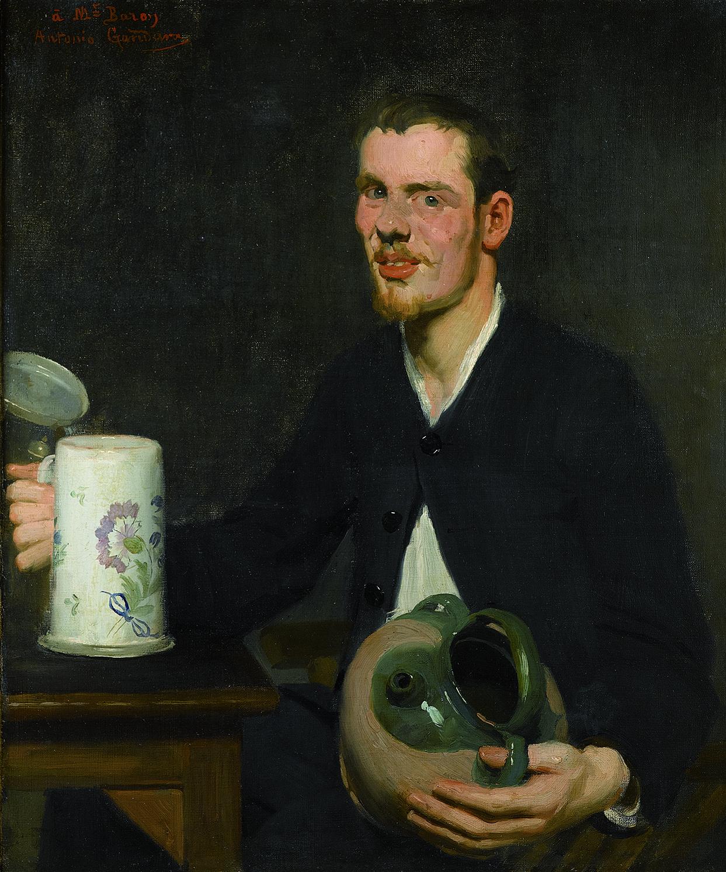 Monsieur Baroy - 1883 - Huile sur toile dédicacée, dans son cadre d'origine - Collection particulière © Archives de l'expert