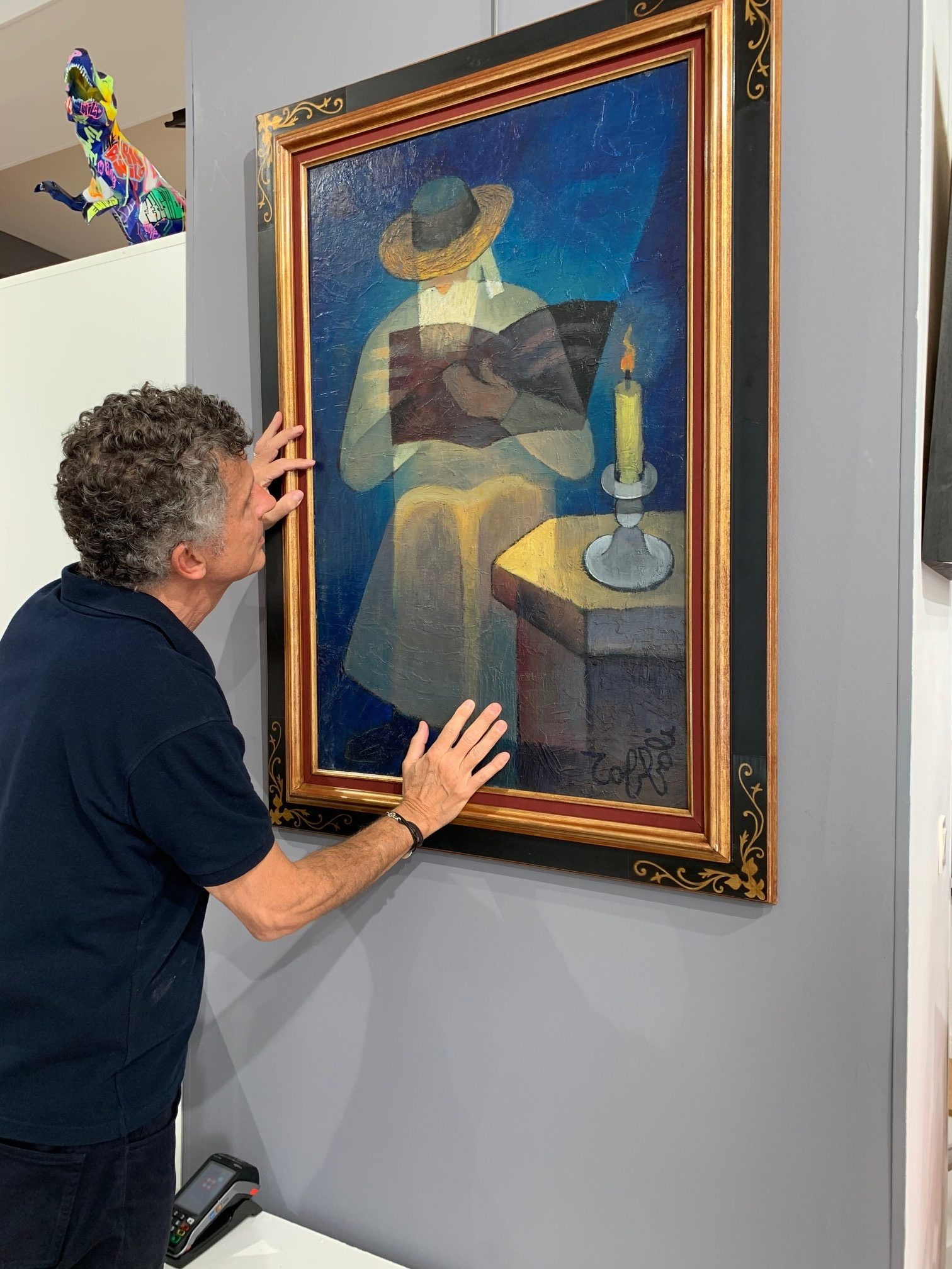 Robert Perahia, expert du peintre Louis Toffoli © archives de l'expert