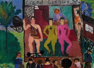 1926 Kiki de Montparnasse -Scène de cirque © Jacques Boutersky, Paris 2021
