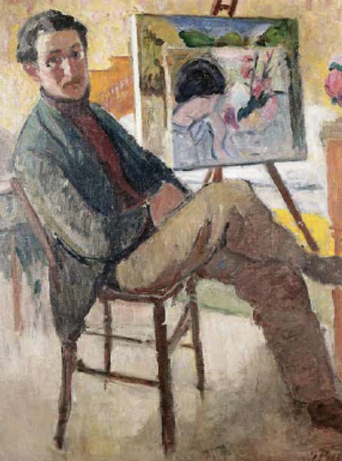 Jean PUY (1876-1960), Autoportrait© Musée Joseph Déchelette, Roanne