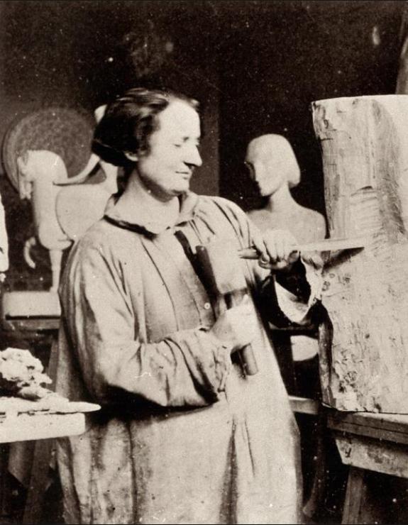 Chana Orloff sculptant